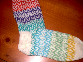 Colorwork Sock | by semperfiona