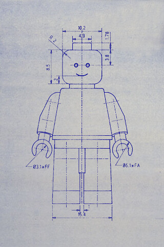 Lego.Blueprint | by DJ Ampex