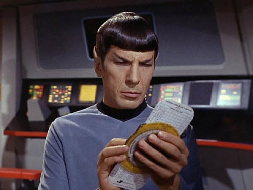 Spock with Jeppesen brand B-1 Slide Graphic Flight Computer) (Who Mourns for Adonis) | by gregory_schnitzer