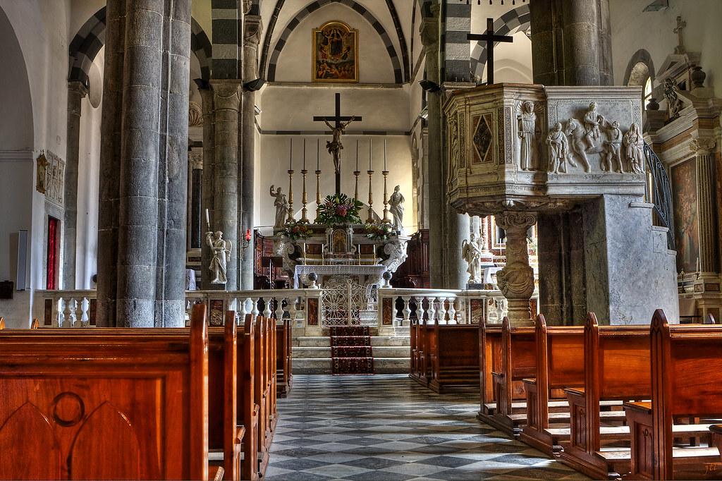 St John the Baptist Church, Riomaggiore, Italy