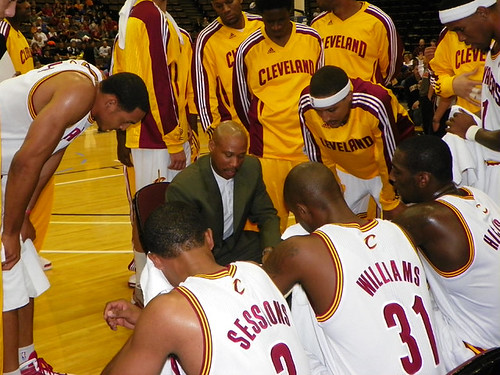 Coach Scott Draws Up a Play | by Cavs History