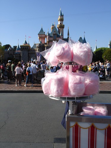 Cotton Candy in front of the Castle | by cybele-