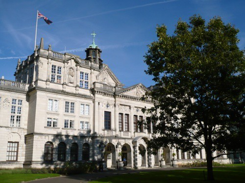 Cardiff University Main Building | by René Wagner