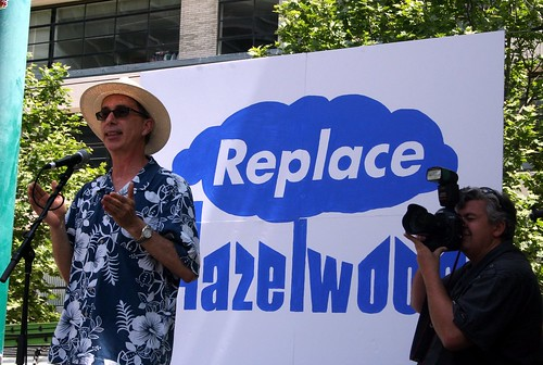 Professor David Karoly calls for immediate closure of Hazelwood Power Station | by John Englart (Takver)