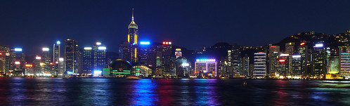 Hong Kong skyline just after dusk | by cnmark