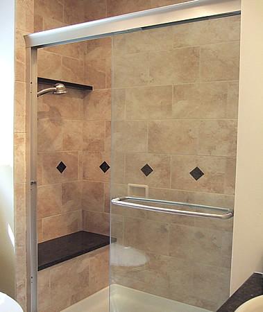 Perfect Bathroom Shower Seat | www.danielskitchenbath.com sm… | Flickr