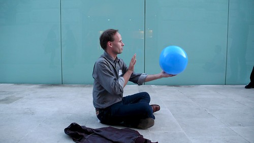 Outdoor Faceball at the Flickr Party... | by Tom Coates