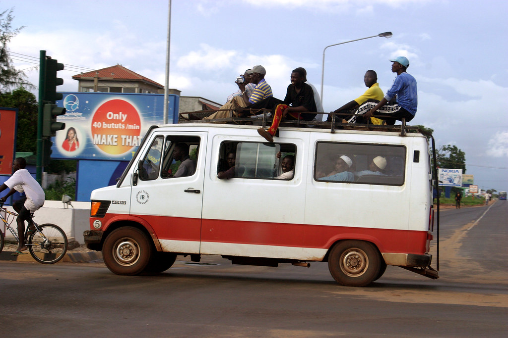 Bildergebnis für Gambia Minibus