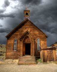 (Explored 2/10/2009) Historic Bodie Church | by Dave Toussaint (www.photographersnature.com)