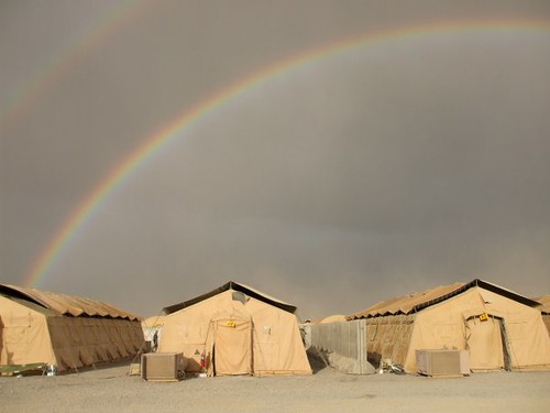 Under the rainbows... | by The U.S. Army