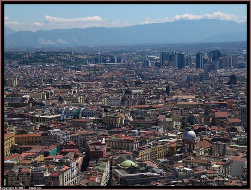 Naples  : View from Certosa San Martino | by Pantchoa