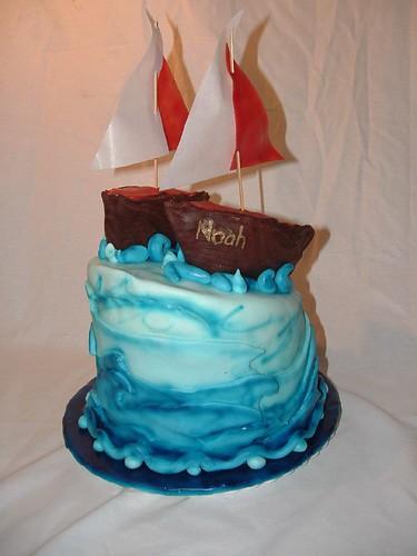 Boat Birthday Cake Images : boat birthday cake 1 www.wildcakes.ca Wild Cakes Flickr