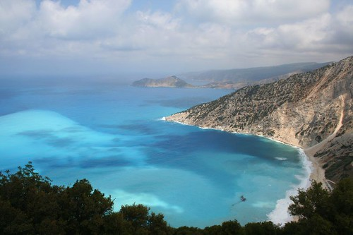 Myrtos beach | by Linda Cronin