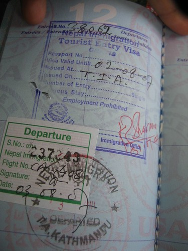 once entry nepal visa | by garbanzo  bean
