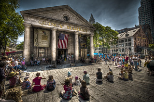Quincy Market Audience | by Frank C. Grace (Trig Photography)