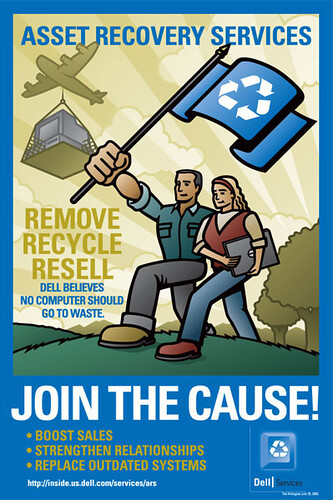 E-waste reduction - poster | by EnviroMedia Social Marketing