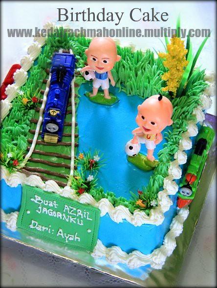 Thomas Upin Ipin Birthday Cake Rachmah Setyawati Flickr