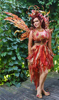 fire fairy renaissance costume | by desifairy