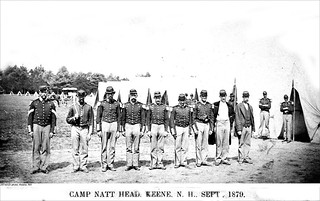 Camp Natt Head Soldiers, Keene New Hampshire | by Keene and Cheshire County (NH) Historical Photos