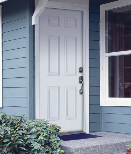 Etonnant ... Feather River Door Fiberglass Entry Doors   6 Panel Smooth White Door |  By Feather River