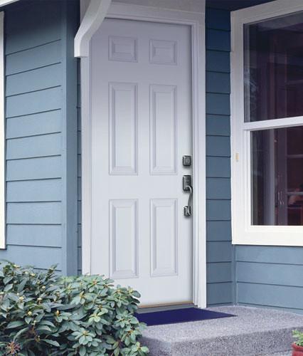 Feather River Door Fiberglass Entry Doors 6 Panel Smooth