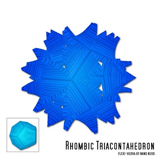 Rhombic Triacontahedron | by nandnerd