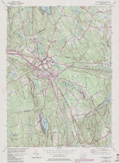 Colchester Quadrangle 1984 - USGS Topographic 1:24,000 | by uconnlibrariesmagic