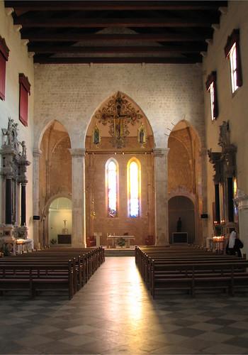 Simple Church Sanctuary Christmas Decor