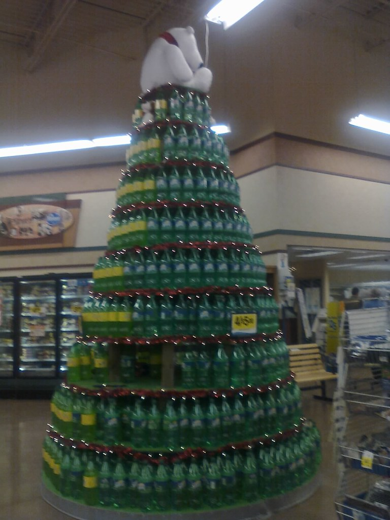 ... 2 Liter Christmas Tree | By Rock N Roll And Nintendo