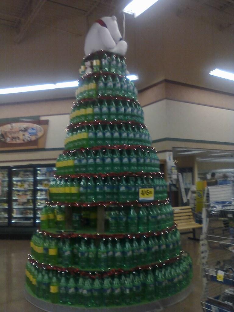 2-liter christmas tree | Rock n Roll and Nintendo | Flickr