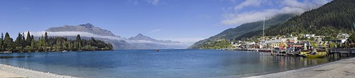 Lake Wakatipu, Queenstown, New Zealand Panoramic | by l plater