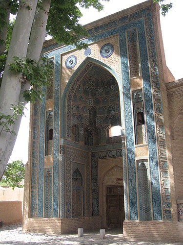 Iwan, Shrine of sufi Abd al-Samad, Natanz
