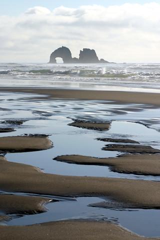 IPhone Wallpaper Rockaway Beach Oregon