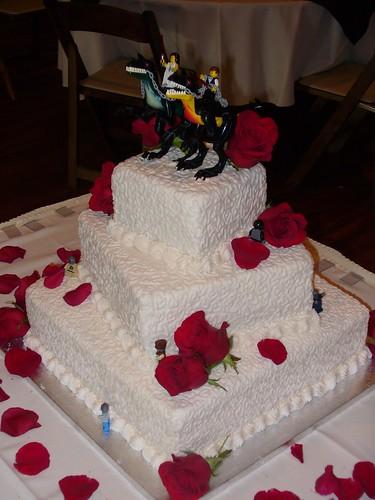 Horde Wedding Cake