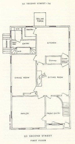 This is the first floor plan of the borden house guy f for House plan guys