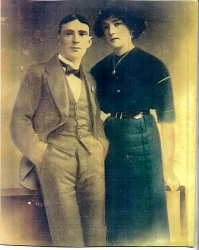 Dublin Ainscough_Annie b.1895 & James Canning | by Boobelle