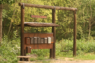 Estonia - Mail boxes in the forest | by One From RM