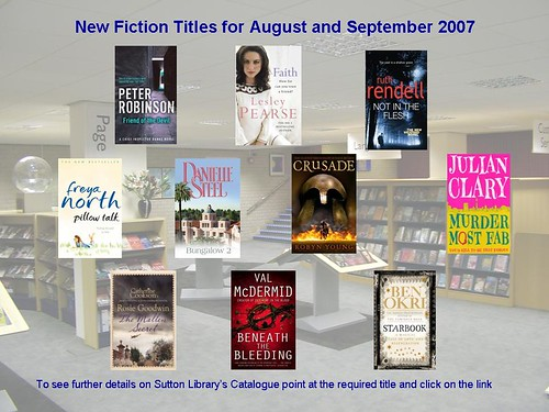 New fiction 2008_09 | by New Books at Sutton Libraries