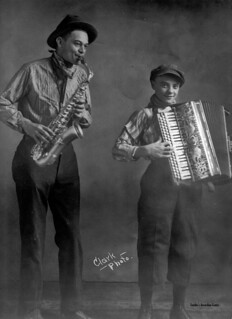 Accordion sax duo 1920's? | by Boilermonster