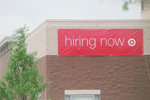 target, hiring now | by cafemama