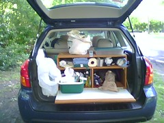 Family car camping - with the chuck box | by bpende