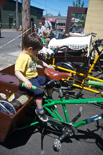Gabriel turned the Civilized Bike into a jungle gym | by shetha