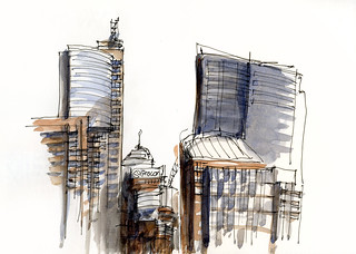 100614 City Sketching 02 | by Liz Steel Art