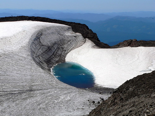 Teardrop Lake - Oregon's Highest Lake on South Sister | by Lee Edwin Coursey