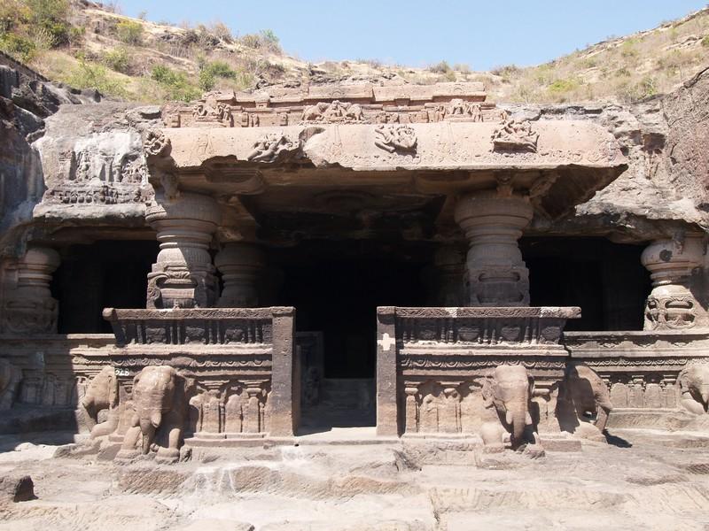 Asia India Maharashtra Ellora Caves Cuevas