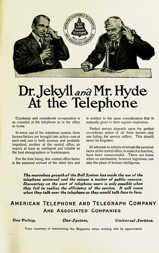 Advertisement -- American Telephone and Telegraph Company | by The Modernist Journals Project