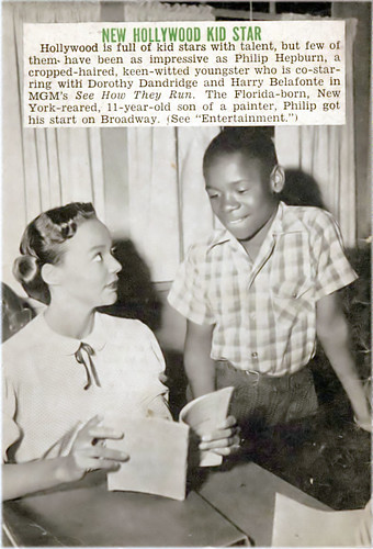 Dorothy Dandridge and Little Costar Philip Hepburn - Jet Magazine, September 25, 1952 | by vieilles_annonces