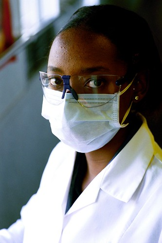 Student dentist at work. South Africa | by World Bank Photo Collection
