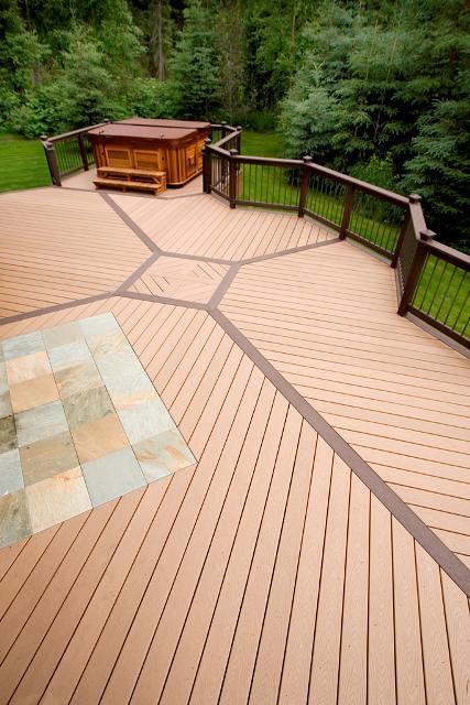 deck design ideas trex cedar hardwood alaskan0101 by alaskatreeline - Trex Deck Design Ideas