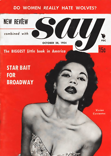Vivian Cervantes Star Bait For Broadway Say Magazine O